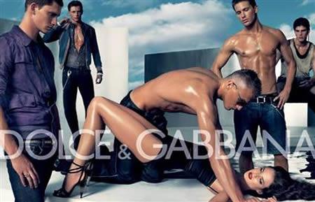 Dolce Gabbana rape ad